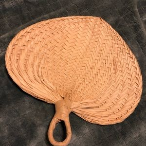 Accessories - Handmade straw fan